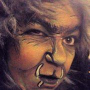 facepainting leeuw