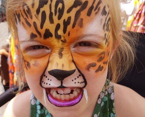schminken tijger